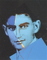 ten portraits of jews of the twentieth century – franz kafka [ii.226] by andy warhol